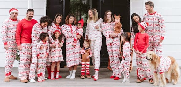 8976673549 Just in Time for Christmas – Holiday Matching Family Pajamas