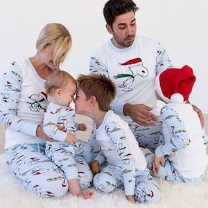 Family Matching Christmas Snoopy Pajamas