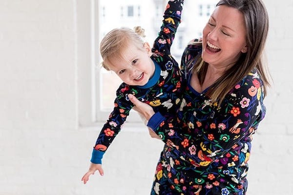 Fox Garden Family Holiday Matching Pajamas