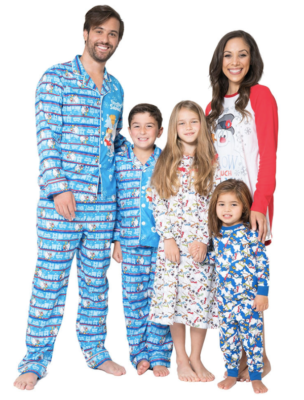 Frosty the Snowman Family Matching Pajamas