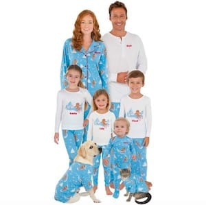 Gingerbread Family Matching Pajamas