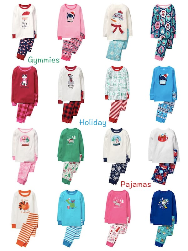 Gymboree Gymmies Holiday Pajamas
