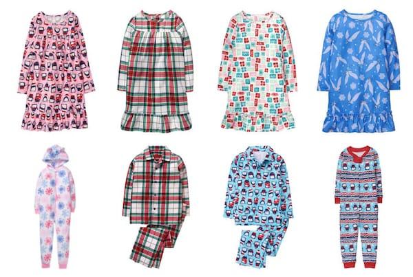 Gymboree 2017 Holiday Pajama Deals