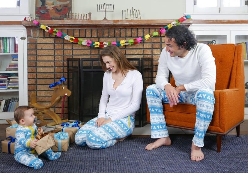 Hanukkah Pajamas Loungewear