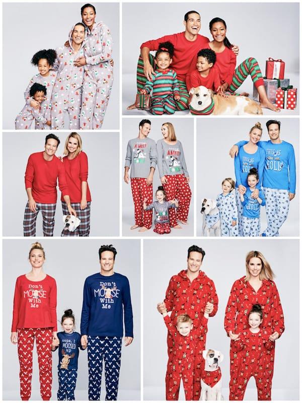 Macy's Family Matching Holiday Pajama Deals