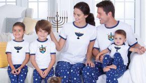 Matching Family Hanukkah Jammies