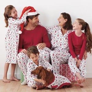 Matching Family Santa Pajamas