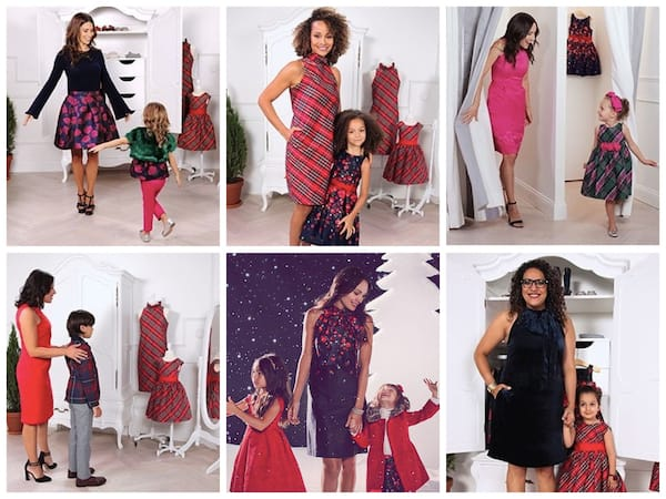 Matching Mother Child Picture Perfect Holiday Outfits