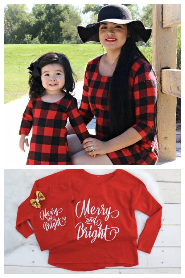 Mommy and Me Holiday Outfits. from LittleMiaBella