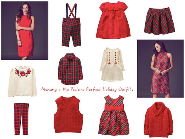 Mommy and Me Picture Perfect Holiday Outfits