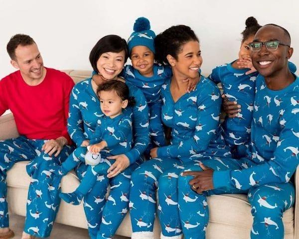 Narwhal Family Matching Pajamas