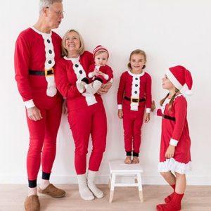 Santa Claus Matching Family Pajamas