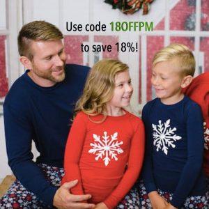 Snowflake Family Matching Pajamas