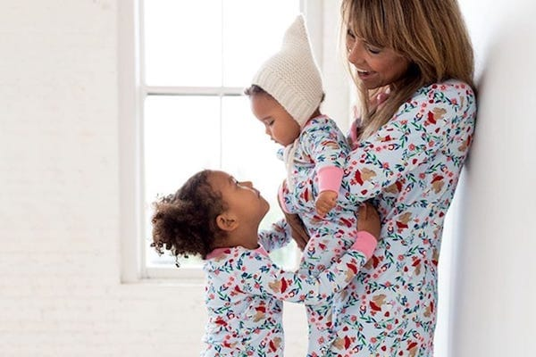 Sweet Bunnies Family Holiday Matching Pajamas
