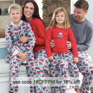 Christmas tree going home pajamas