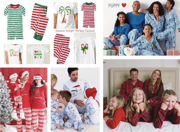 8 Trends in Family Holiday Pajamas