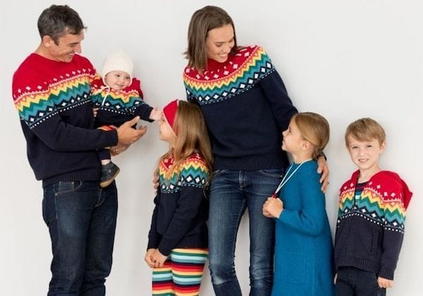 All Is Bright Matching Family Sweaters Collection