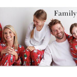 Family Pajamas on Sale