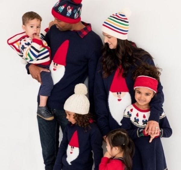 Gnome Sweet Gnome Matching Family Sweaters