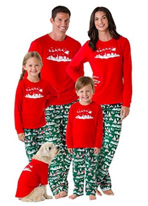 Night Before Christmas Matching Family Pajamas