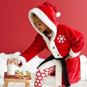 Santa Robe for Kids Chasing Fireflies