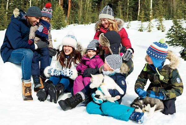 Stay Warm and Cozy Outerwear for the Whole Family