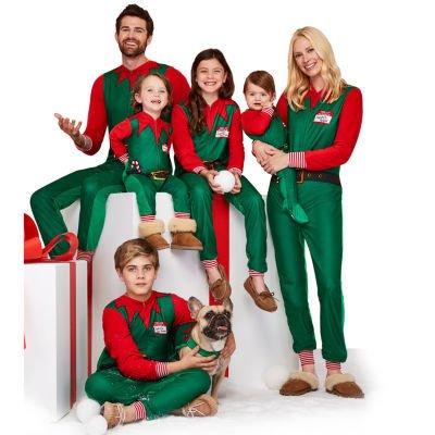 Elf Family Christmas Pajamas