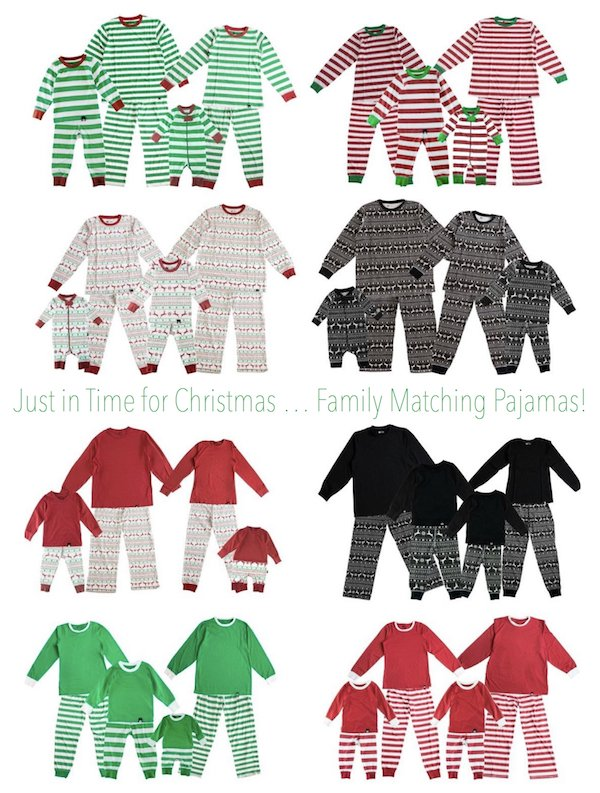 Just in time for Christmas Family Matching Pajamas