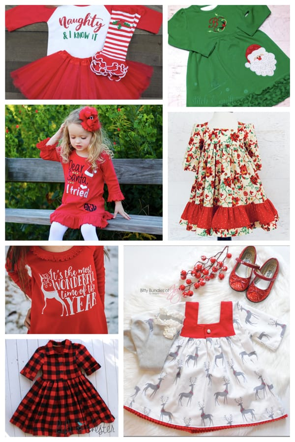Little Girl Christmas Dresses