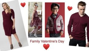 Fabulous Plus Size Mommy and Me Valentines Outfits