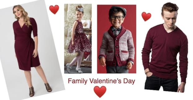 Fabulous Plus Size Mommy and Me Valentines Outfits  d474ed3480d3