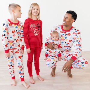 Family Matching Star Wars Valentines Day Pajamas