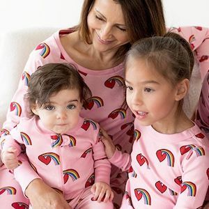 Happy Ever After Mommy and Me Valentines PJs