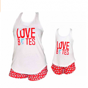 Love Bites Mommy and Me Valentines Day Outfit