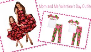 Mom and Me Valentines Day Outfits