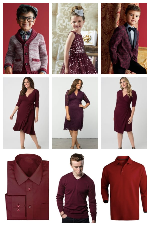 Plus size mommy and me valentines outfits, Mommy and Daddy and Me Match in Radiant Reds