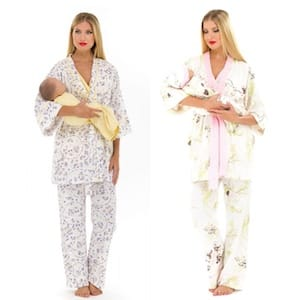 Nursing pajama set for new moms