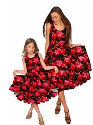 Sassy red roses valentines dresses
