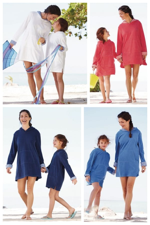 Mother Daughter Matching Beach Tunics