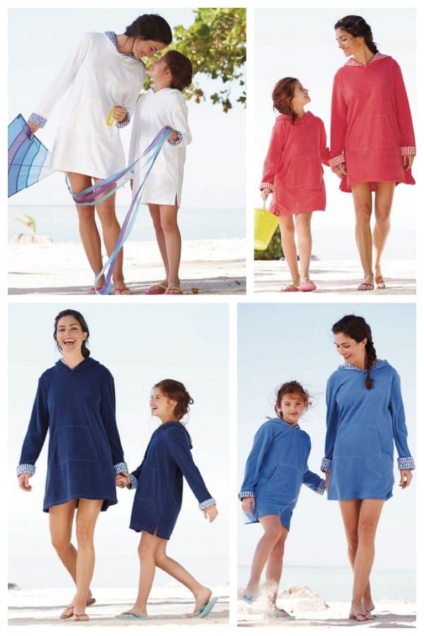 Mother Daughter Matching Beach Tunics