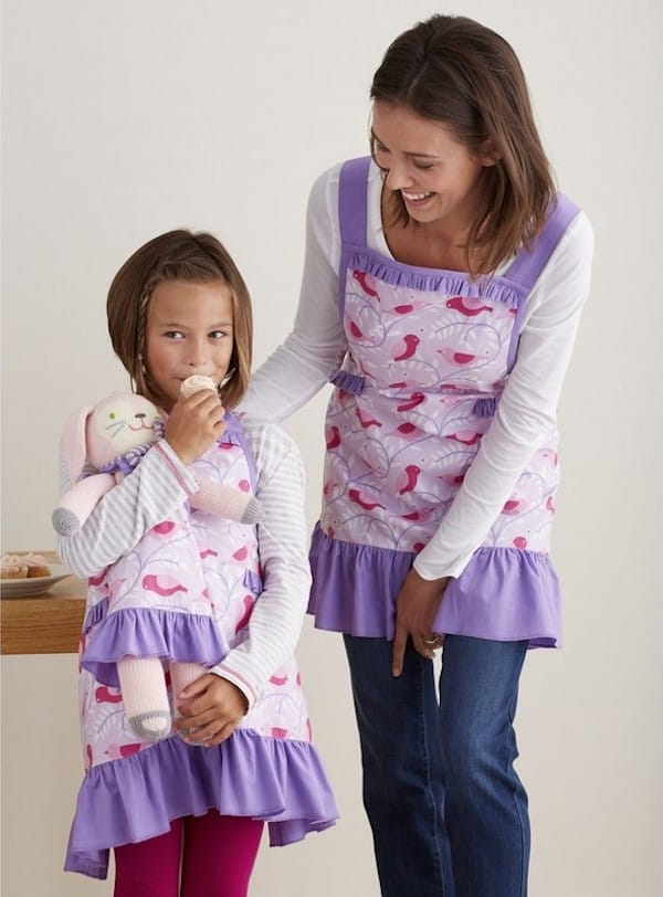 Mother Daughter Matching Fly Away Aprons