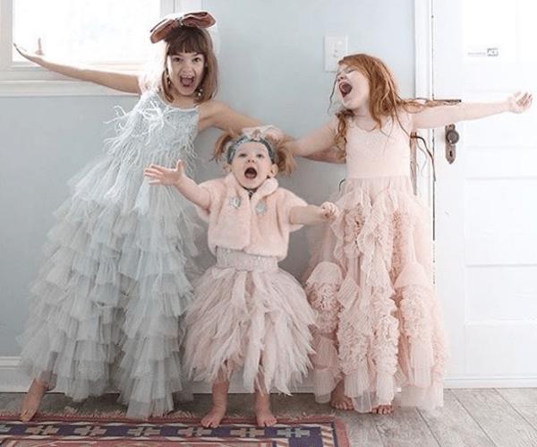 Rent Girls Long Dresses