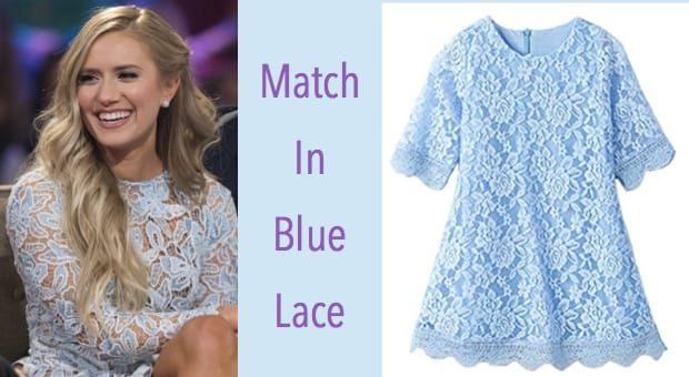Match in Blue Lace