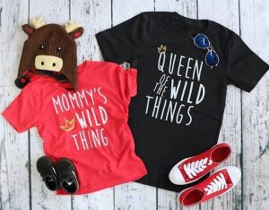 Mommy & Me Wild Thing Tees