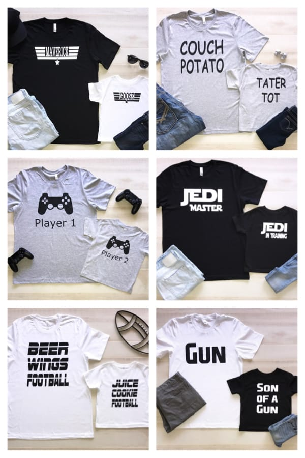 Daddy and Me Tees on Sale