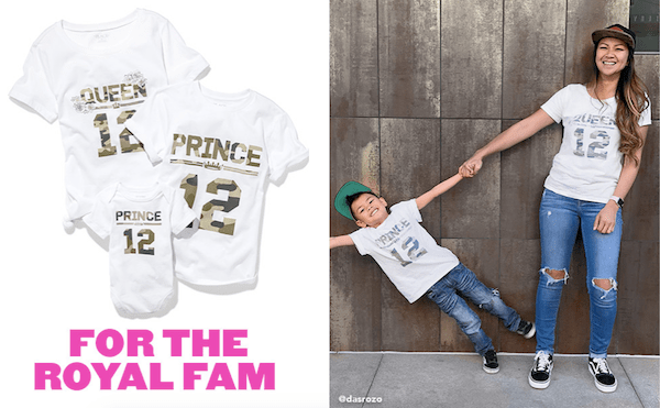Matching Family Royal Family Tees