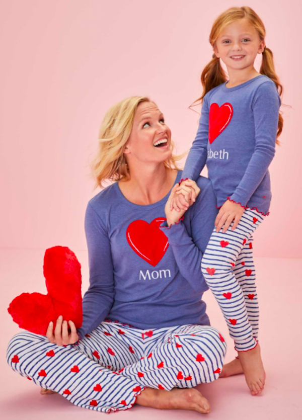 Mommy and Me Heartstrings Pjs