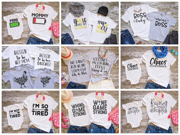 Mommy and Me Tees on Sale