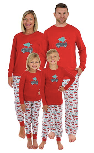 Family Matching Tree Delivery Christmas Pajamas