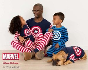 Captain America Matching Pajamas
